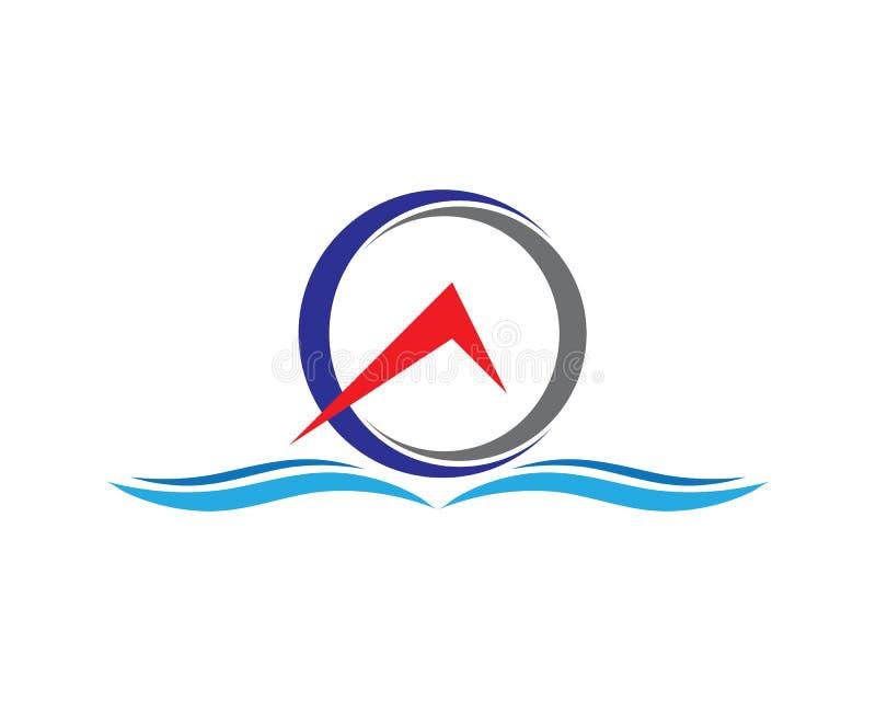 Okr?gu logo ilustracji