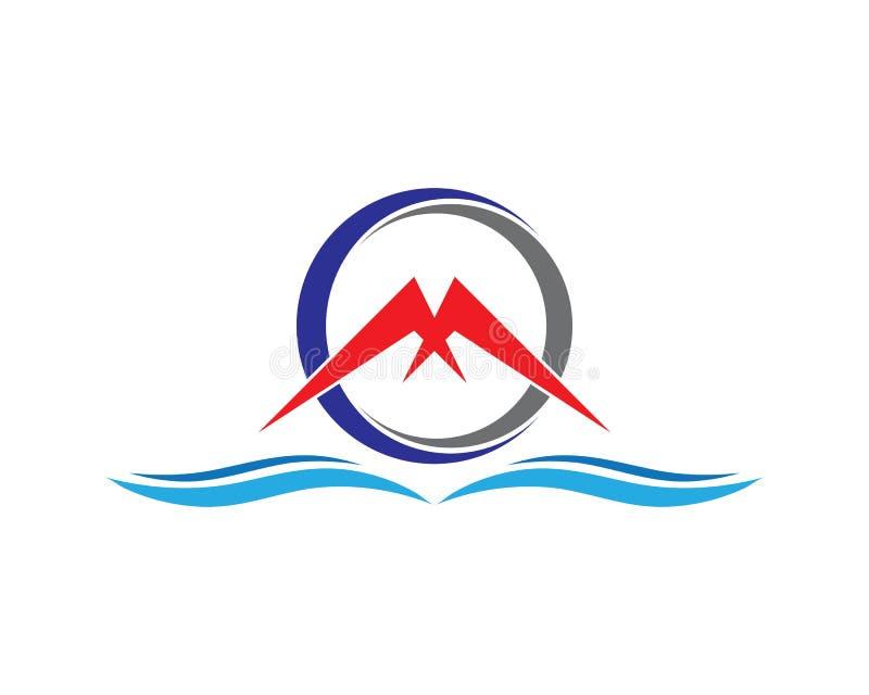 Okr?gu logo royalty ilustracja