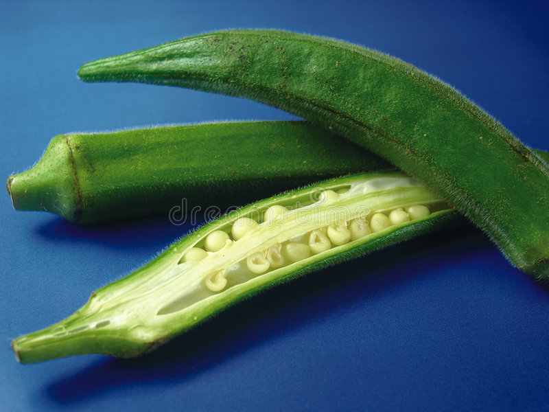 Download Okra 3 stock photo. Image of stem, seed, sliced, ripe, green - 249692