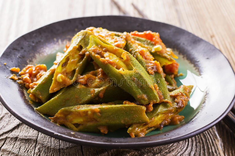 Okra Stew stock images