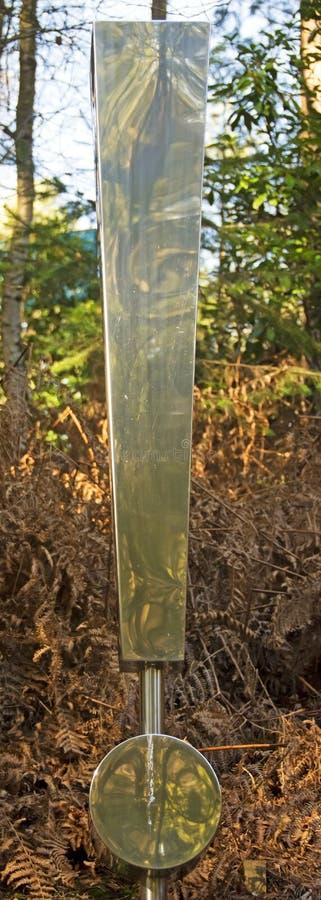 Okrzyk Mark w drewnach zdjęcia royalty free