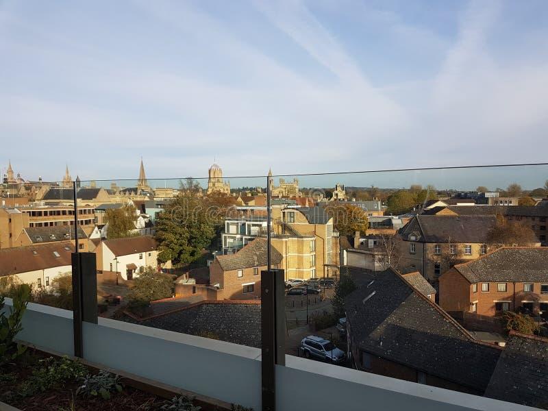 Oksfordzka linia horyzontu zdjęcie stock