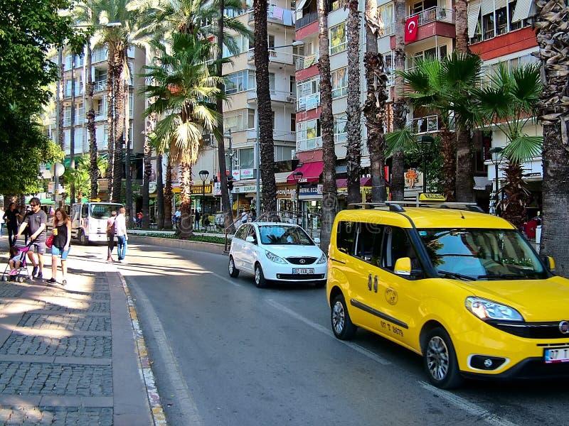 Oktober in Antalya, die Türkei lizenzfreies stockbild