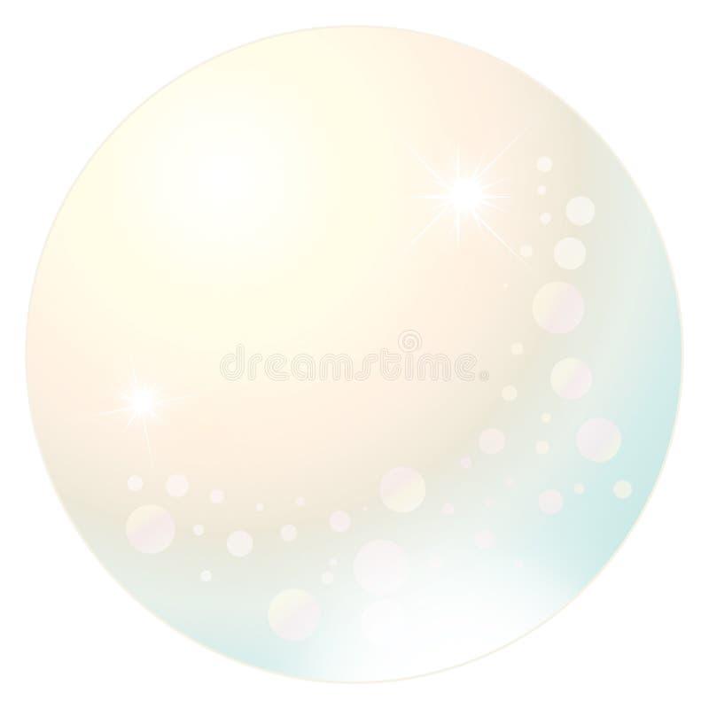 Oktober Birthstone - Opaal royalty-vrije illustratie