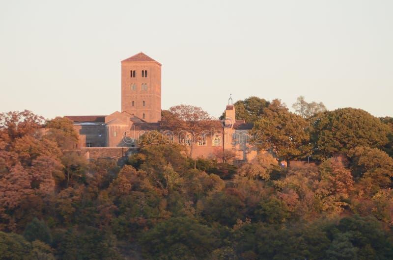 Oktober 27, 2013, Manhattan, New York City är klosterna i Upper Manhattan en filial av det storstads- museet av Art Special royaltyfri foto