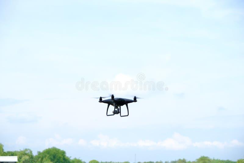 15. Oktober 2018 Thailand, Brummenservice für Nehmenbild von der Vogelperspektive lizenzfreies stockfoto