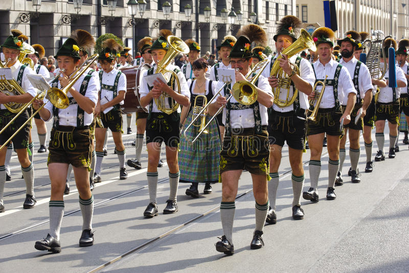 Oktoberfest在慕尼黑 免版税库存照片
