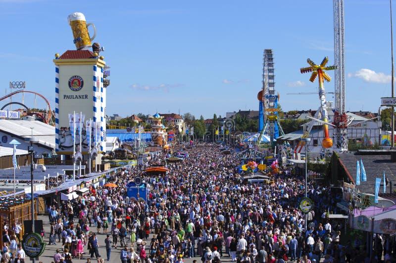 Oktoberfest在慕尼黑 库存图片