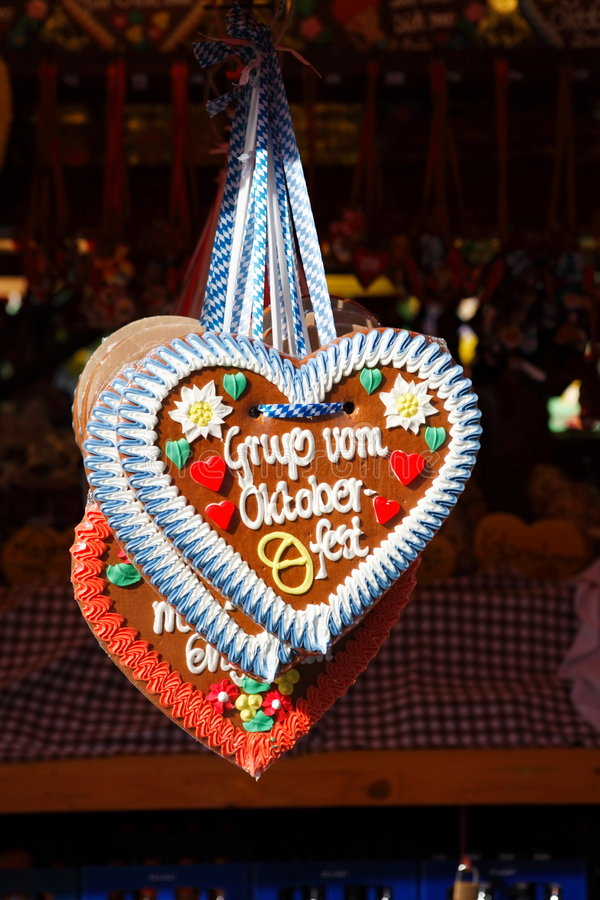 Oktoberfest的问候 编辑类库存照片