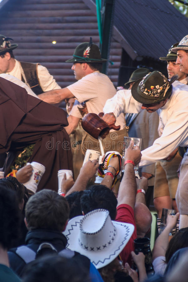 Oktoberfest в генерале Belgrano виллы стоковое фото rf