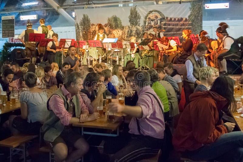Oktoberfest Зальцбург Австралии стоковые фотографии rf