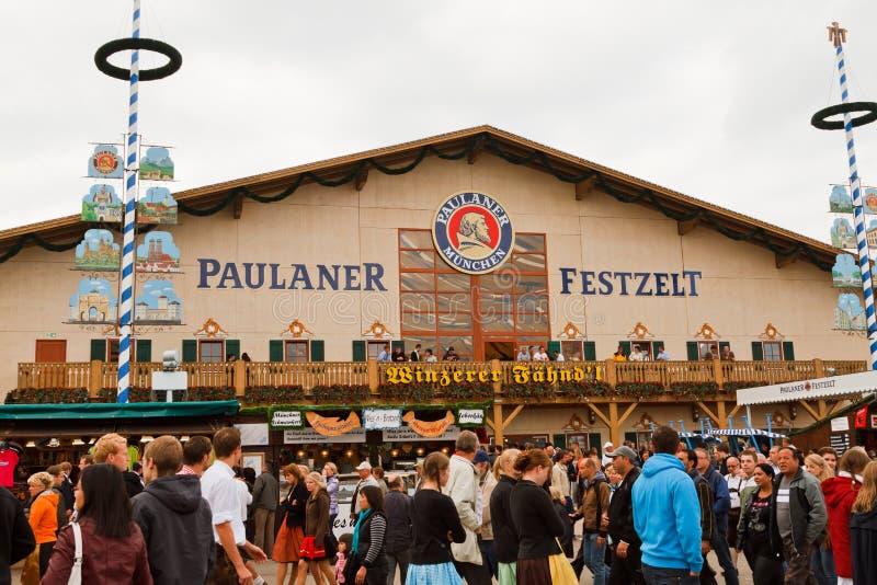 Oktoberfest 2010 En Munich Imagen editorial
