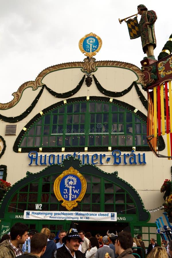 Oktoberfest 2010 in München royalty-vrije stock afbeeldingen