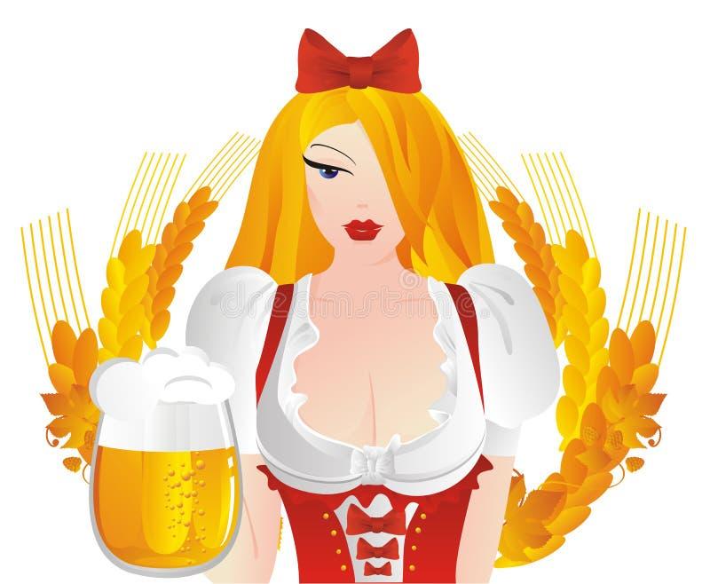 Oktoberfest. ilustração royalty free
