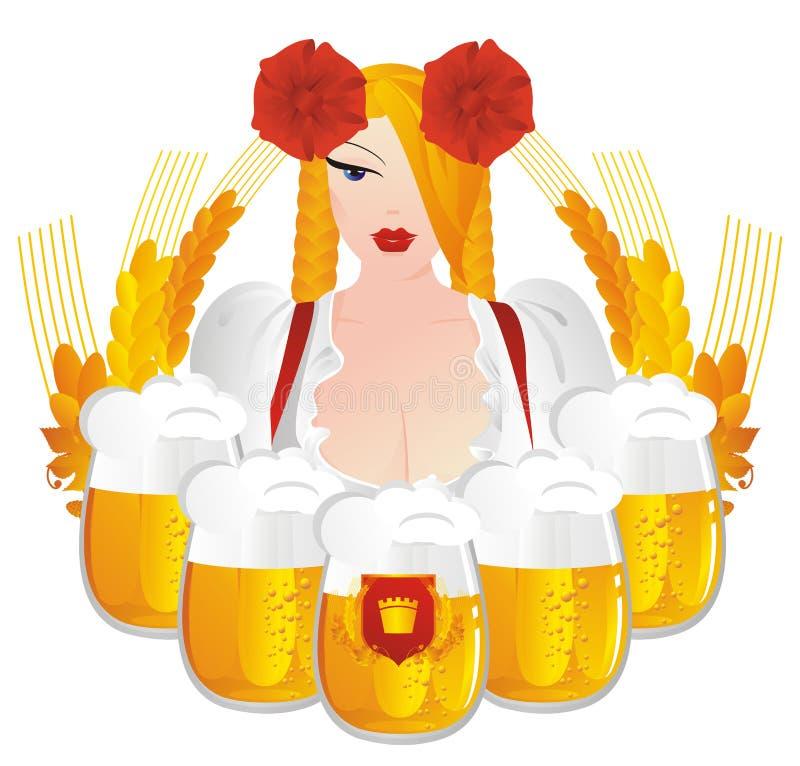 Oktoberfest. illustration de vecteur