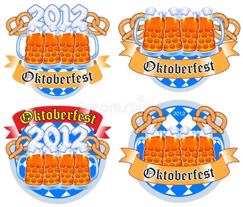 Oktoberfest ilustração royalty free