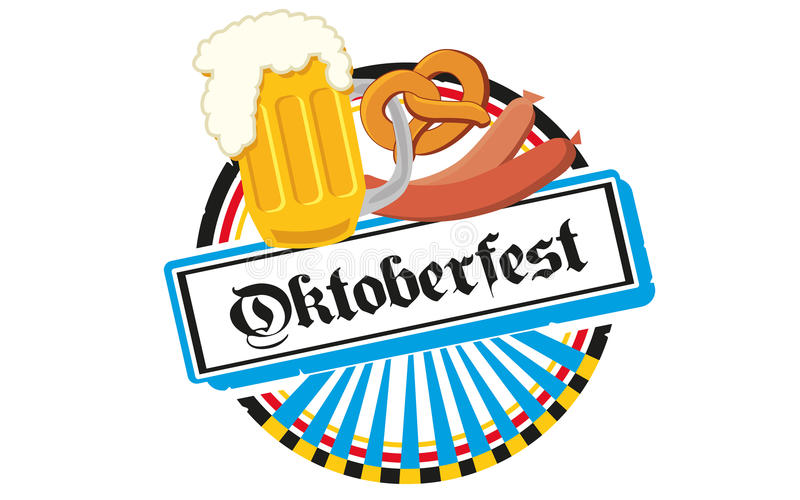 Oktoberfest ilustración del vector