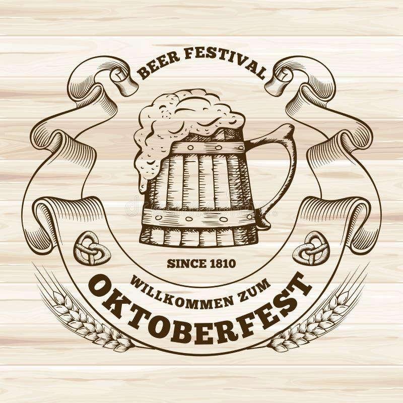 oktoberfest libre illustration