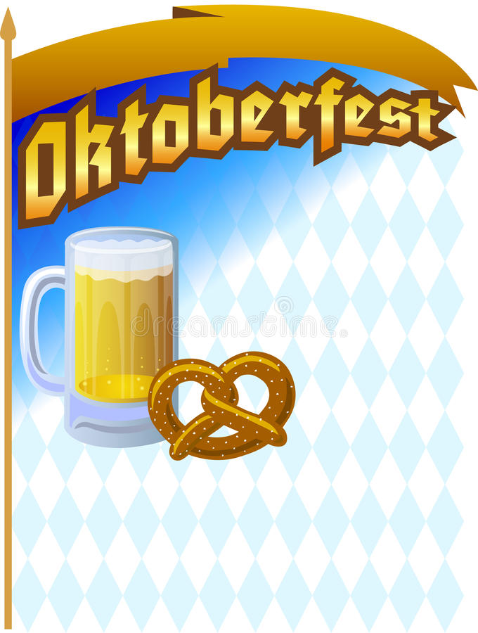 Oktoberfest Background/ai royalty free illustration