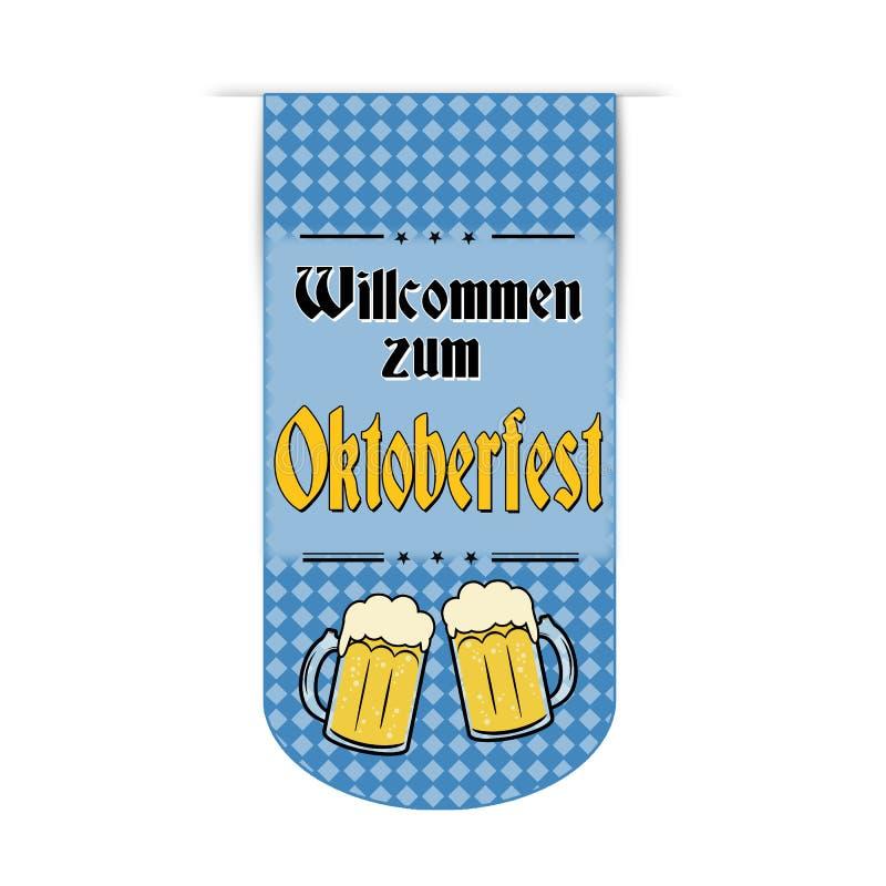 Oktoberfest banner design vector illustration