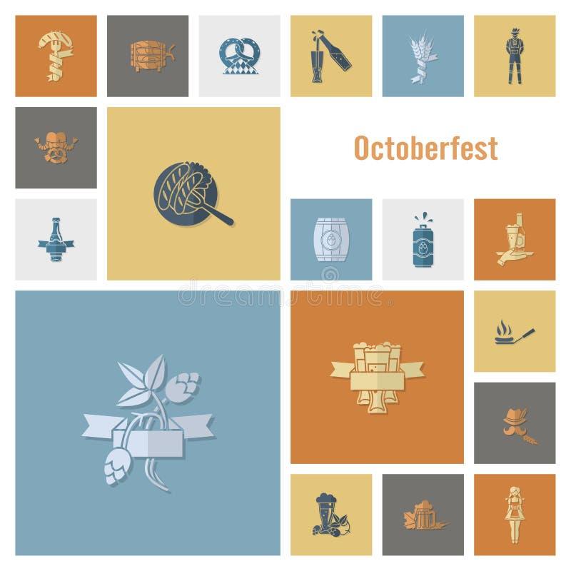 Oktoberfest Beer Festival vector illustration