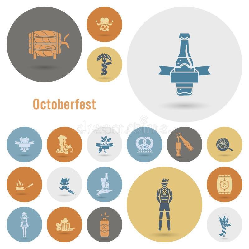 Oktoberfest Beer Festival royalty free illustration