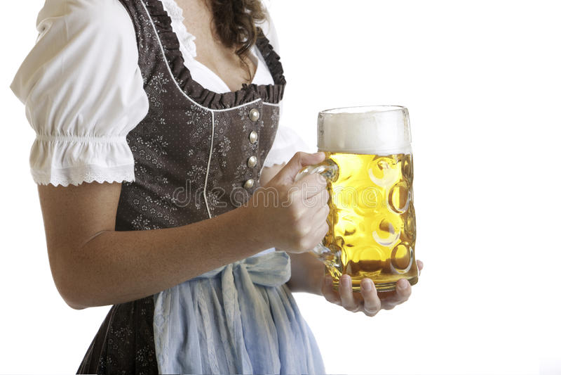 Oktoberfest beer stein (Mass) stock images