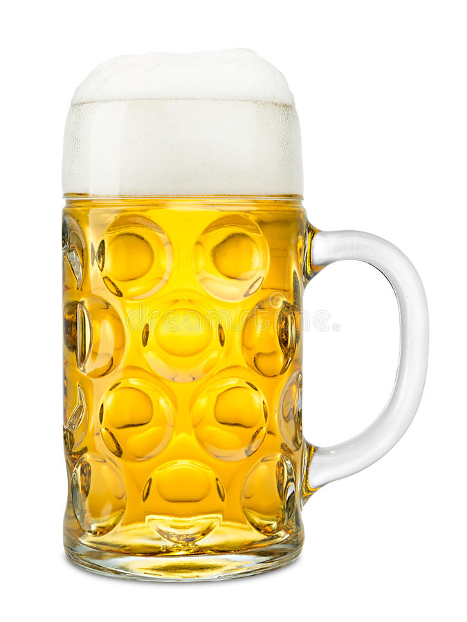 Oktoberfest Bier stockfoto