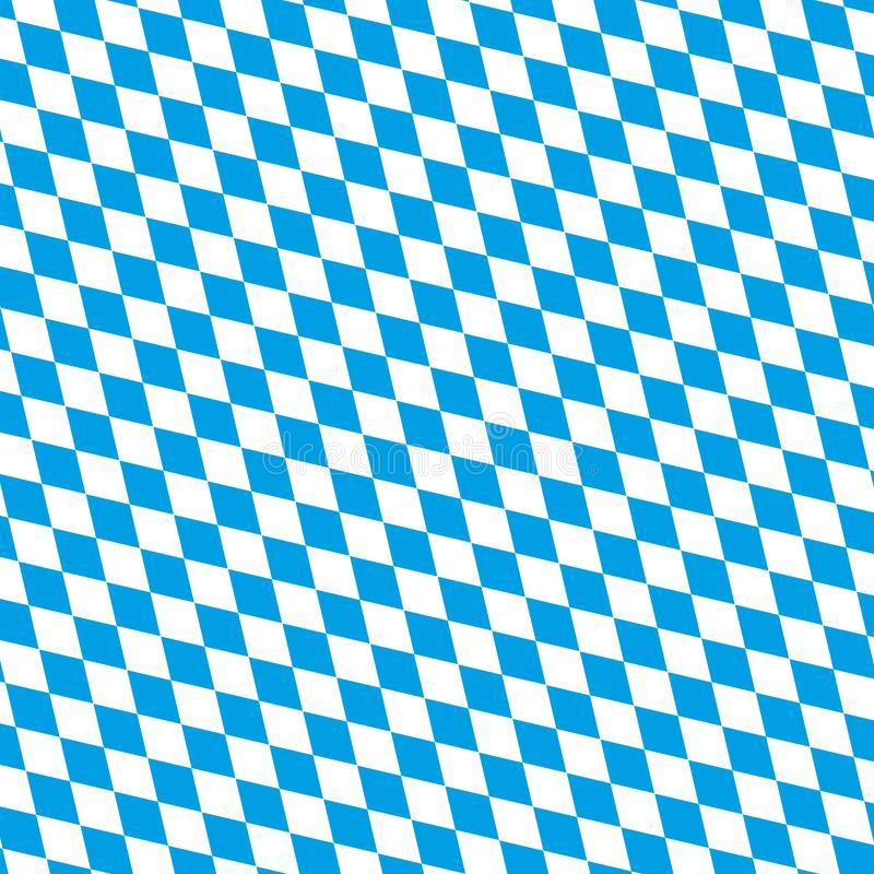OKTOBERFEST blue Abstract geometric pattern. October festival Vector illustration, blue color. Germany`s Oktoberfest world`s stock illustration