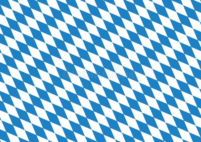 Oktoberfest blue background vector illustration