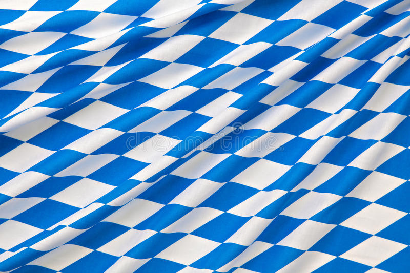 Oktoberfest checkered background royalty free stock photography