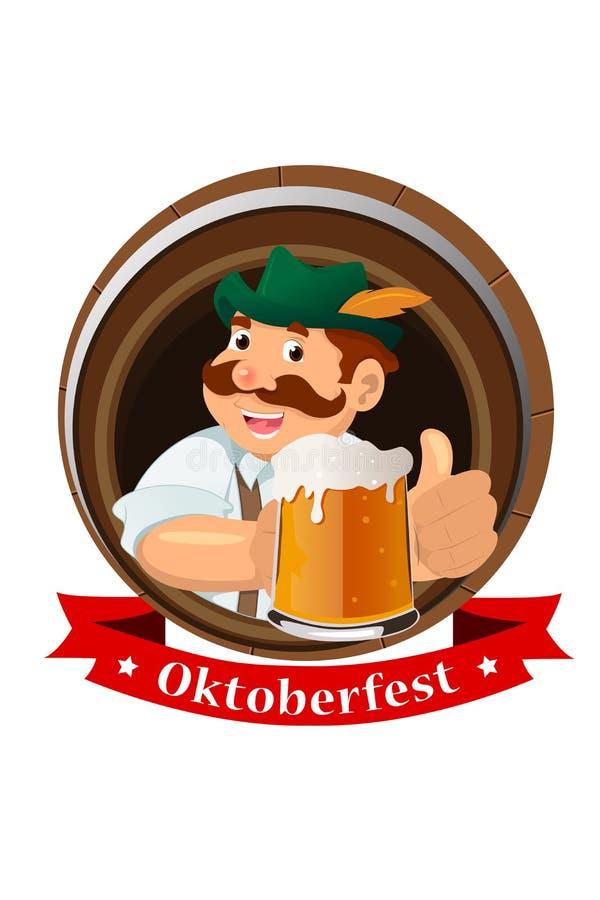 Oktoberfest concept stock illustration