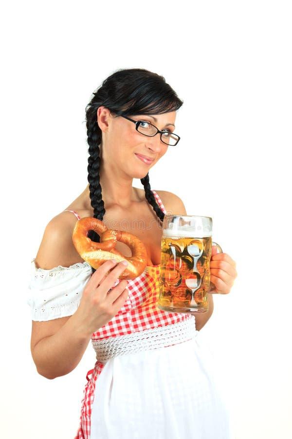 Oktoberfest Dirndl stockfotos