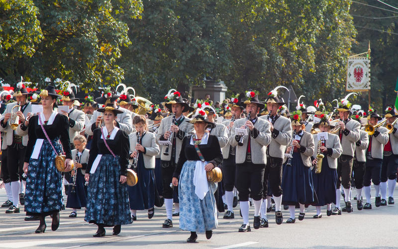 Oktoberfest en Munich imagen de archivo