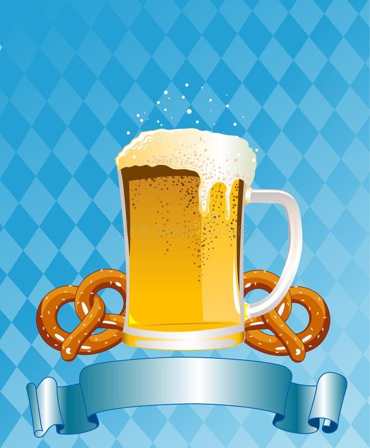 Oktoberfest Feier-Hintergrund Lizenzfreies Stockfoto
