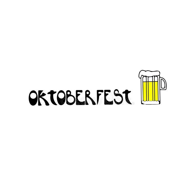 Oktoberfest - festival da cerveja ilustração stock