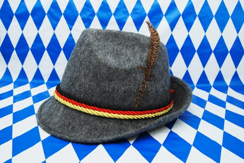 Oktoberfest Hat — 德国阿尔卑斯山巴伐利亚帽 库存图片