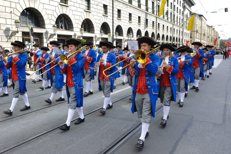 Oktoberfest in München stockfotografie