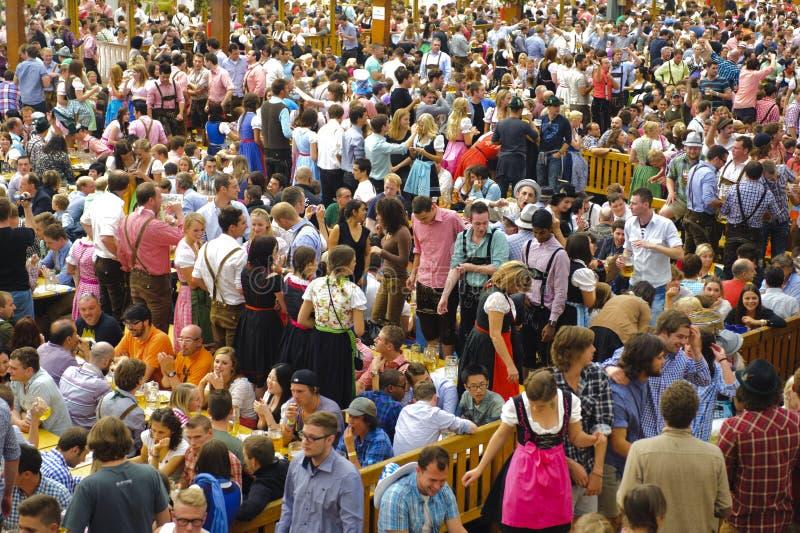 Oktoberfest in München lizenzfreies stockfoto