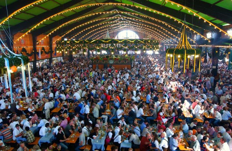 Oktoberfest, münchen, Duitsland stock afbeelding