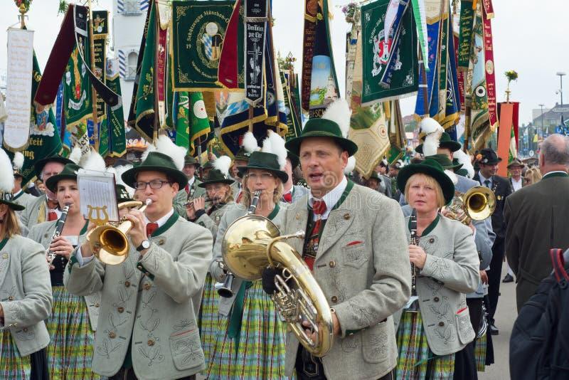 Oktoberfest Marching Band royalty free stock photos