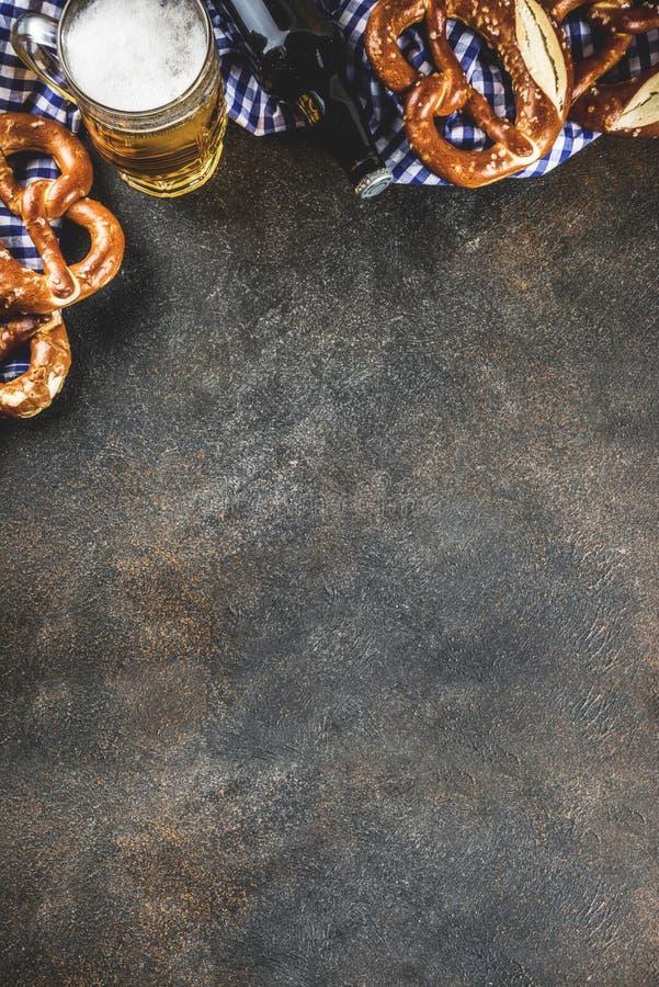 Oktoberfest matbegrepp arkivfoton