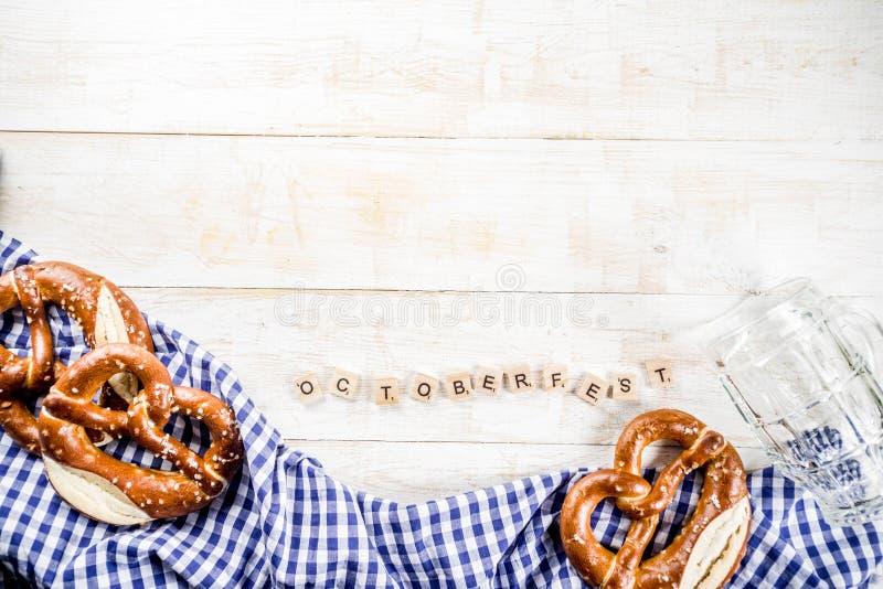 Oktoberfest matbegrepp fotografering för bildbyråer