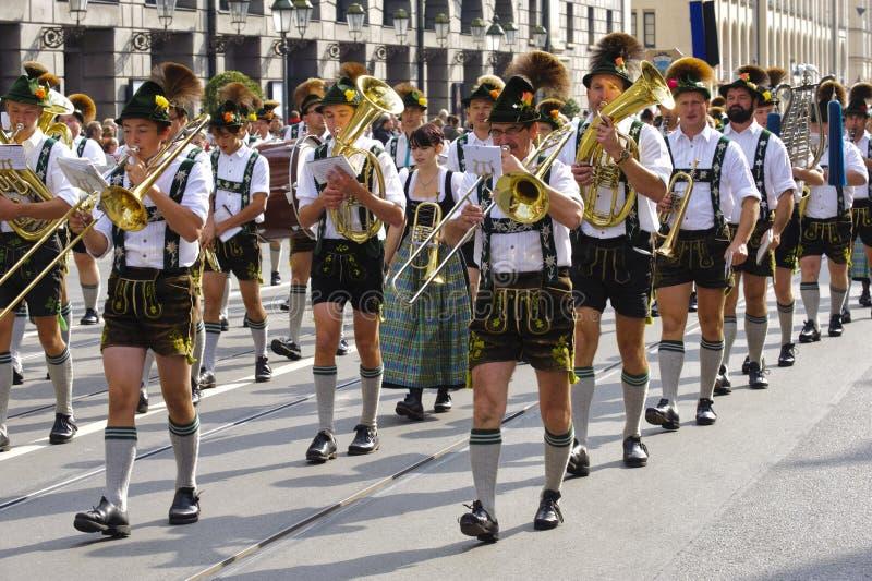Oktoberfest a Monaco di Baviera fotografia stock libera da diritti