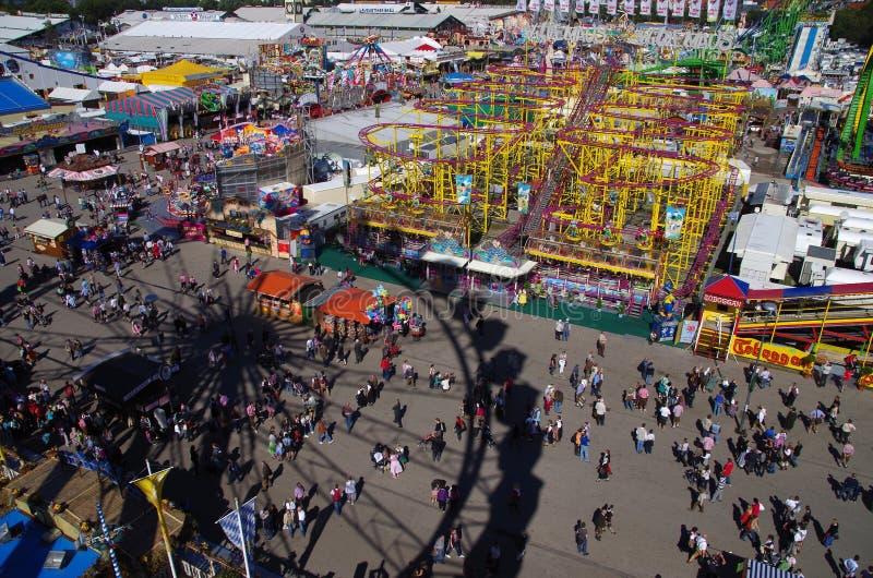 Oktoberfest Monaco di Baviera fotografie stock libere da diritti