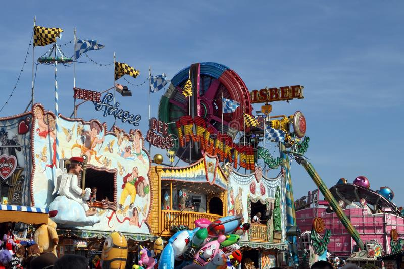 Oktoberfest, Monaco di Baviera, Germania immagine stock
