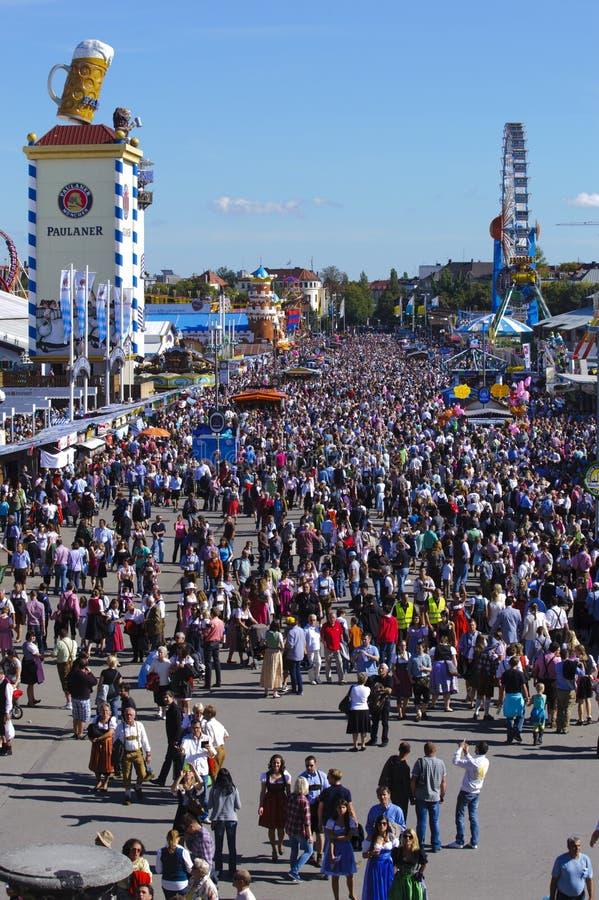 Oktoberfest in munich royalty free stock photos