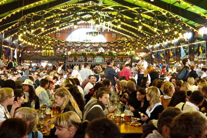 Oktoberfest in Munich Germany stock image