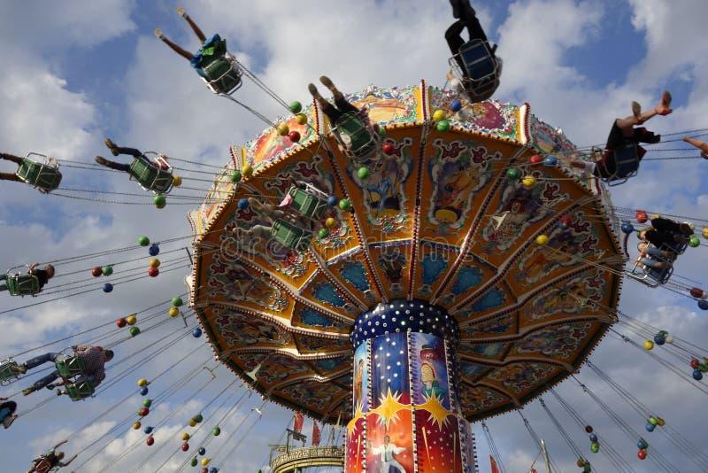 Oktoberfest piwny festiwal w Monachium, Niemcy fotografia stock