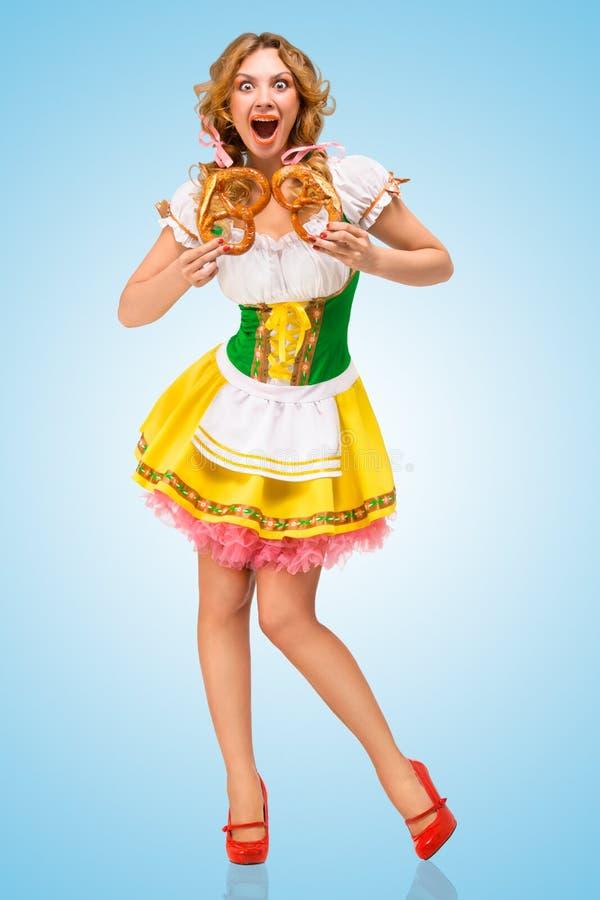 Oktoberfest-Schrei lizenzfreies stockfoto